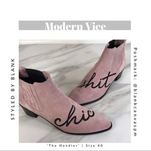 NEW Modern Vice 'The Handler' Ankle Bootie